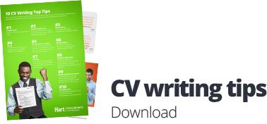CV writing tips download