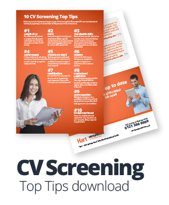 CV Screening tips download
